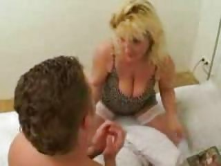 very lustful mother caught her son reading porn