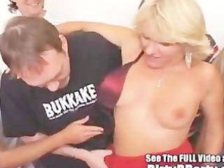 jackie 2 gap creampie bukkake bang with dirty d