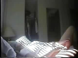 my mom. masturbation in the morning. hidden webcam