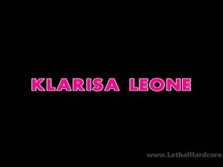 klarisa leone. . . horny milf bonks the repairman!