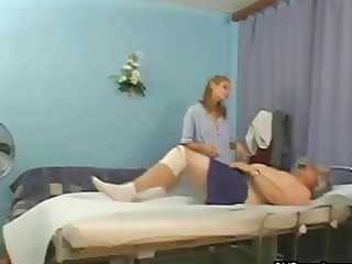 grand-dad fucking in a hospital