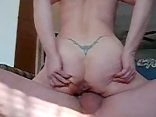 fucking and creampie my 09 years wife