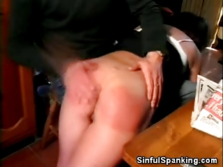 aged sweetheart spanked