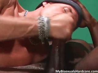naughty dark brown milf doesnt mind joining part0