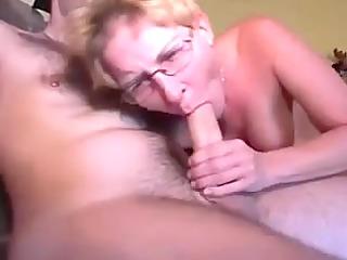 german milf schlong engulfing and doggy-fucked
