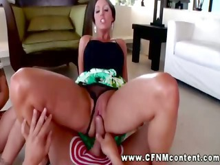cfnm babe grinding pussy on rod and can receive