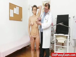 skinny wife with a unshaved fuck aperture