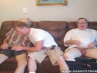 chap next door - 11 older daddies with the lad