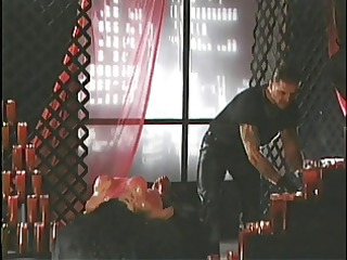 fetish bitch acquires overspread in hot wax