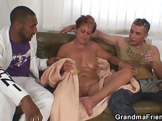 nasty granny takes dicks at once