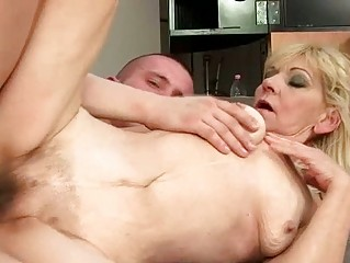 granny with hairy pussy getting screwed