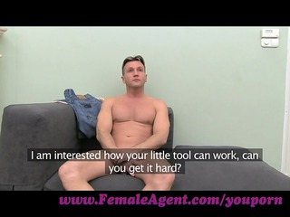 femaleagent. ardent and older casting fuck