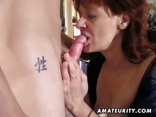 amateur redhead mother i sucks and copulates a
