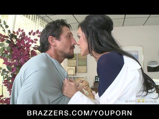 hot dr. benson, a nympho dentist, bonks her aid
