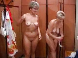 aged russian sex in a bathhouse