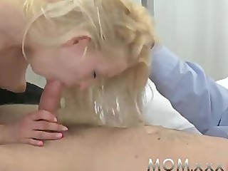 mamma blond mother i receives a good fucking