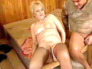 old ladies drilled hard in full clip
