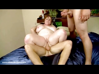 biggest tit milf gets plump snatch slapped gaped