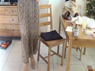dilettante wife in lengthy suit