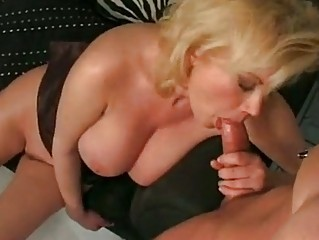 breasty golden-haired mommy carolyn monroe enjoys