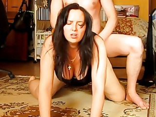 obedient wife gets ass screwed by her russian