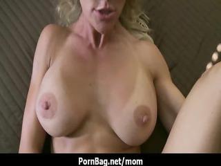 mommy got large titties - amazing hardcore mother