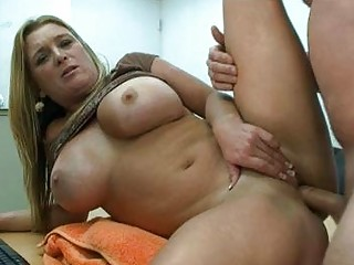 chubby blonde mother i with biggest boobs