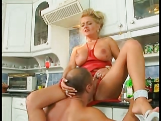german milf fucked in the kitchen