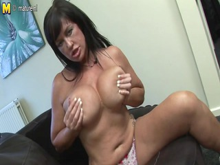 hot british mother id like to fuck gets her wet