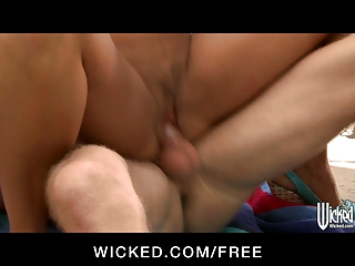 wicked - big-boobed brunette hair d like to fuck