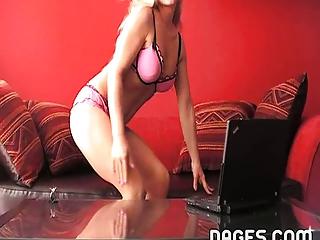 horny mom striptease