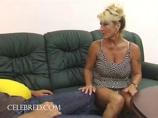 fucking his aunt with his large penis hardcore