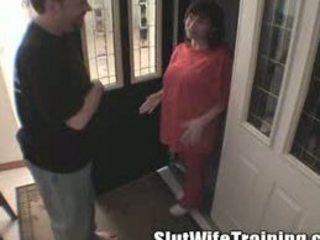 training a preggy wife to be a slut mom