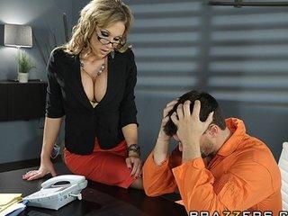 hot big-boob brunette mother i lawyer nikki sexx