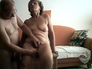 sexually lewd granny acquires her ribald cleft