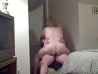 my big beautiful woman wife fucking me on a