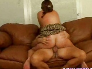 milf takes a dick vaginal part9