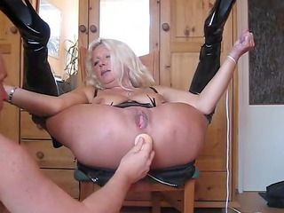 german wife rectal gap play