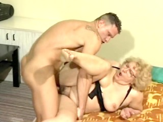 naughty granny drilled