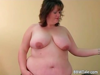 fat slut have joy with her large sex toy part4