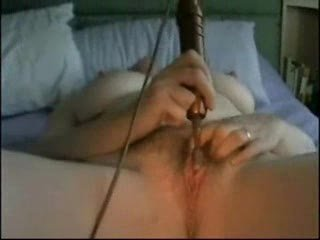 older masturbating with toy