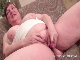 obese aged vibrating hungry pussy