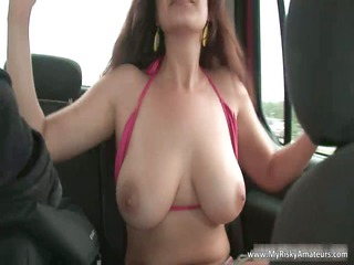 dark brown d like to fuck showing her heavy