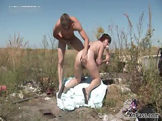 filthy older wife bows over and gets part4
