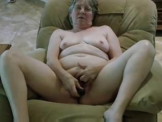 grannys fresh dark fake penis
