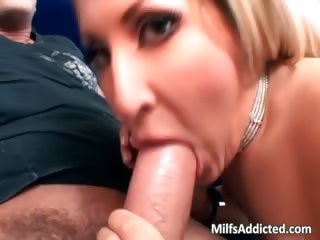 charming blonde mother i use her oral-job part6