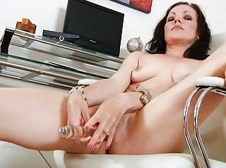 black haired d like to fuck bonks her glass