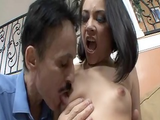aged guy likes to fuck this sexy youthful honey