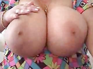 biggest natural mature fondles herself