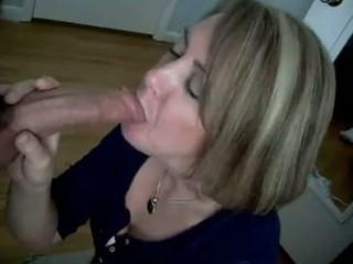 excited wife shows her sucking skills to the world